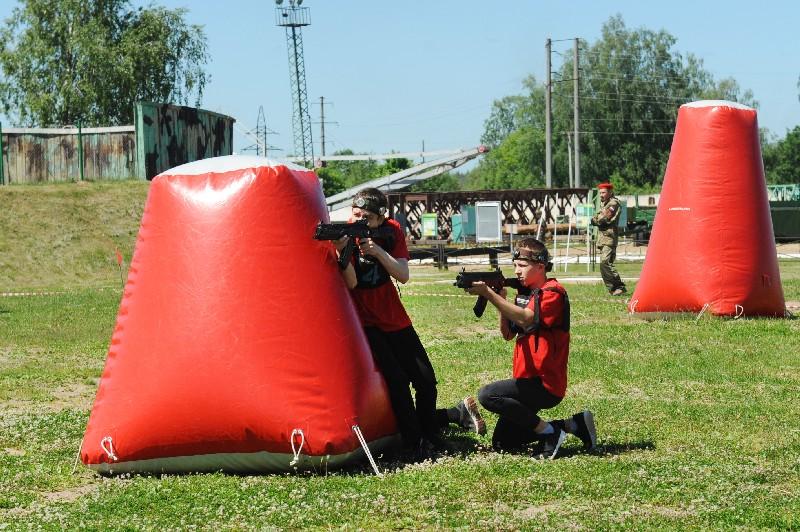 В Смоленске определили победителей юнармейского «Лазертага»