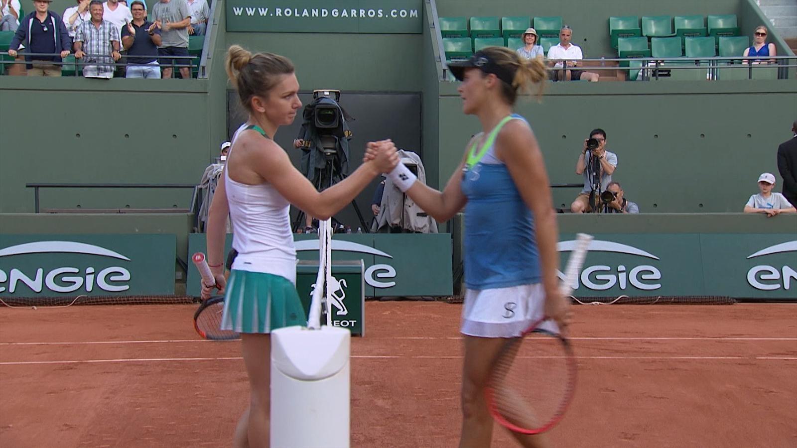 Касаткина поздравила Халеп с победой в финале Roland Garros