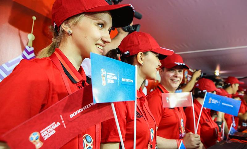 Смоленские волонтеры будут работать на матчах Чемпионата мира по футболу FIFA 2018