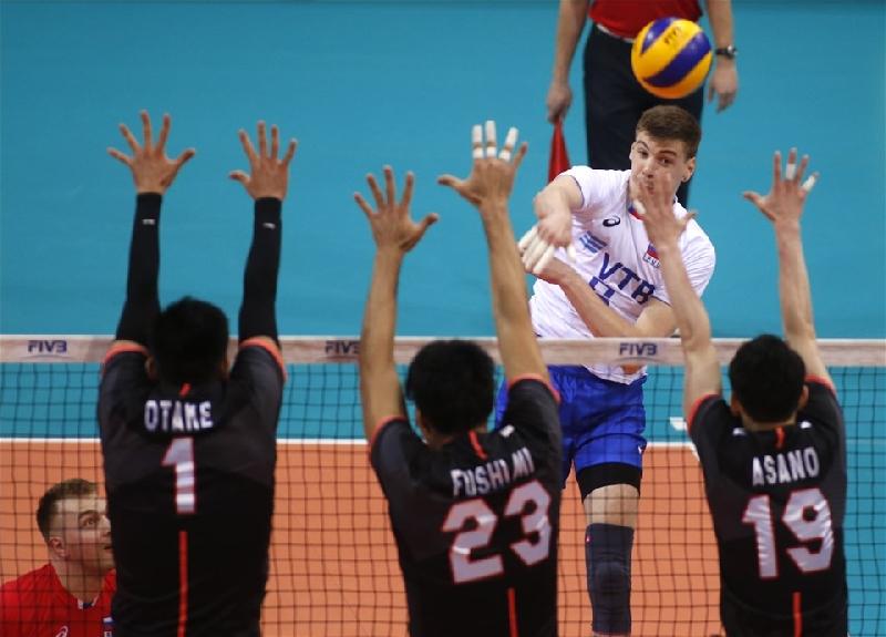 Смолянин помог сборной России разгромить японцев