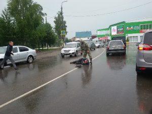 В райцентре Смоленской области сбили велосипедиста