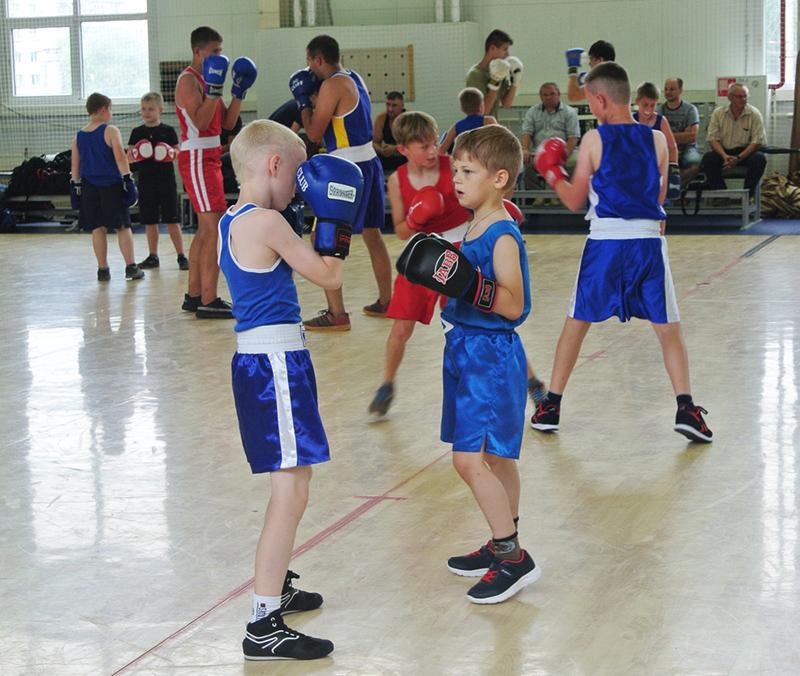 В Смоленске состоялась массовая тренировка по боксу