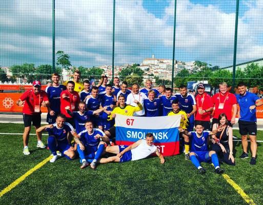 Смоляне вышли в плей-офф студенческого чемпионата Европы по футболу