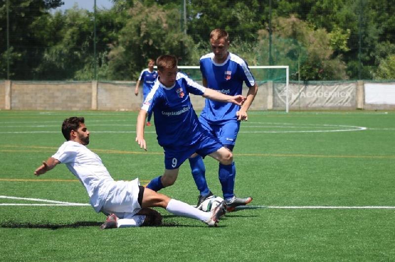Смоляне вышли в полуфинал студенческого чемпионата Европы по футболу
