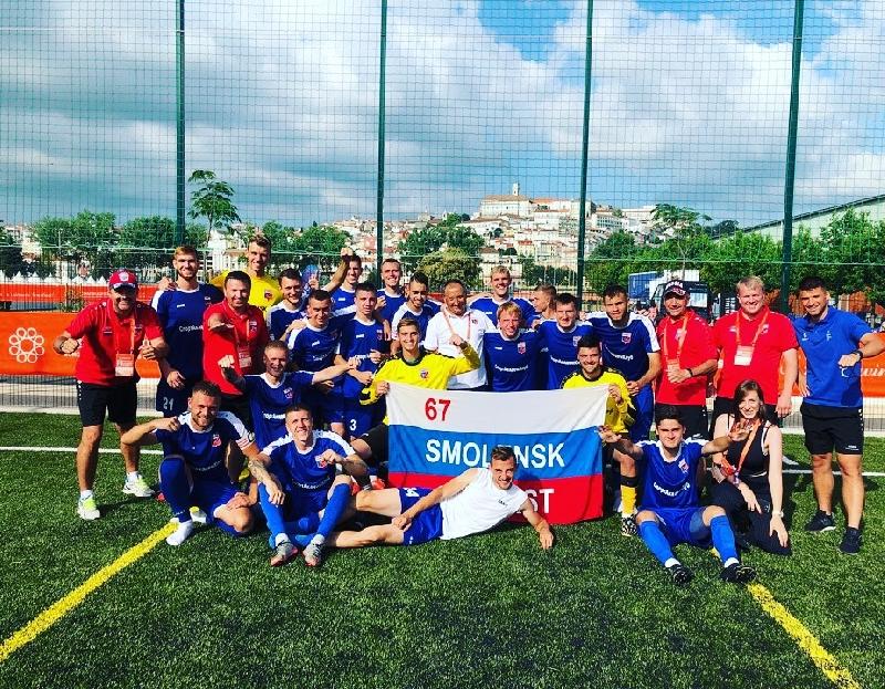 Смоляне – в финале студенческого чемпионата Европы по футболу