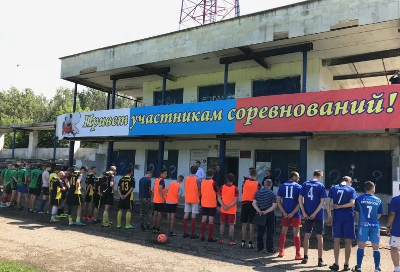 В Смоленском районе стартовал турнир по дворовому футболу
