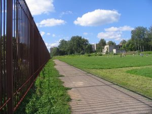 В райцентре Смоленской области реконструируют старейший стадион