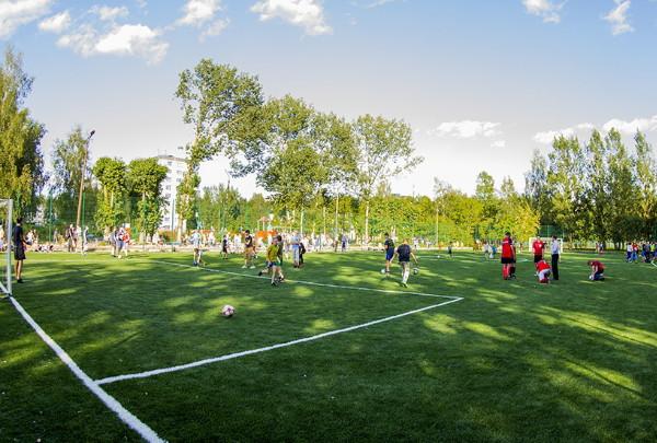 В Смоленске открыли школьный стадион