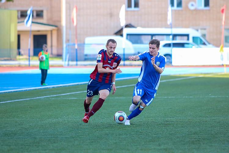 Смоленский «Днепр» одержал вторую победу в сезоне