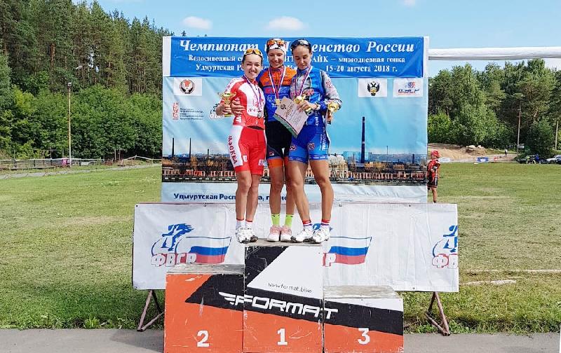 Смоленская студентка заняла третье место на чемпионате России по велосипедному спорту