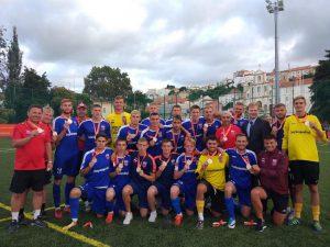 Футбольная команда СГАФКСТ – серебряный призер Европейских университетских игр
