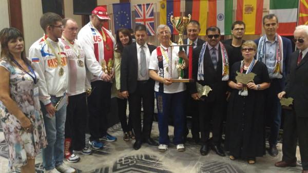 Награды высшего достоинства — смоленским шахматистам