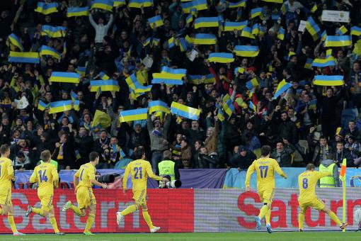 Восемь украинских фанатов арестованы после матча Лиги наций Чехия— Украина