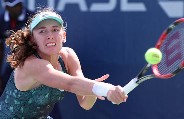 Теннисистка Александрова нанесла поражение Остапенко
