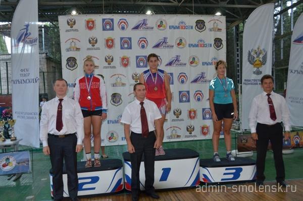 Смоленские гиревики завоевали два серебра на Кубке России