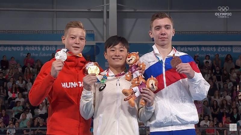 Студент смоленской спортакадемии завоевал еще 2 медали на юношеских ОИ-2018
