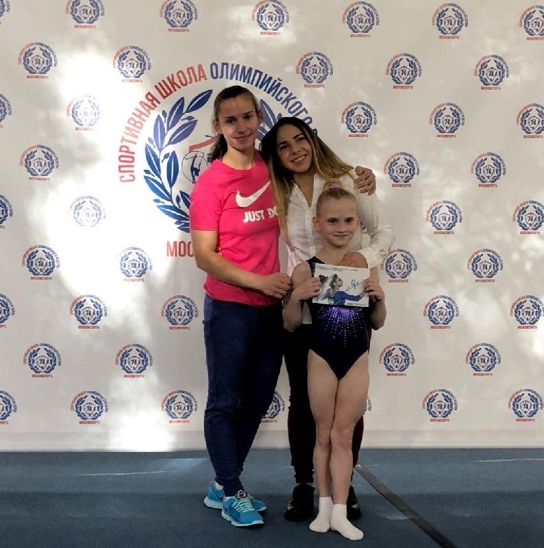 Смоленская гимнастка стала лучшей в Москве