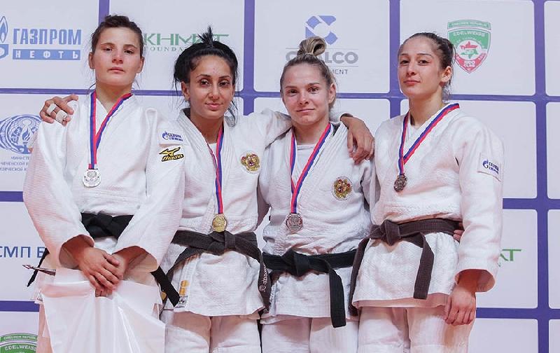 Выпускница смоленского училища выиграла чемпионат России по дзюдо