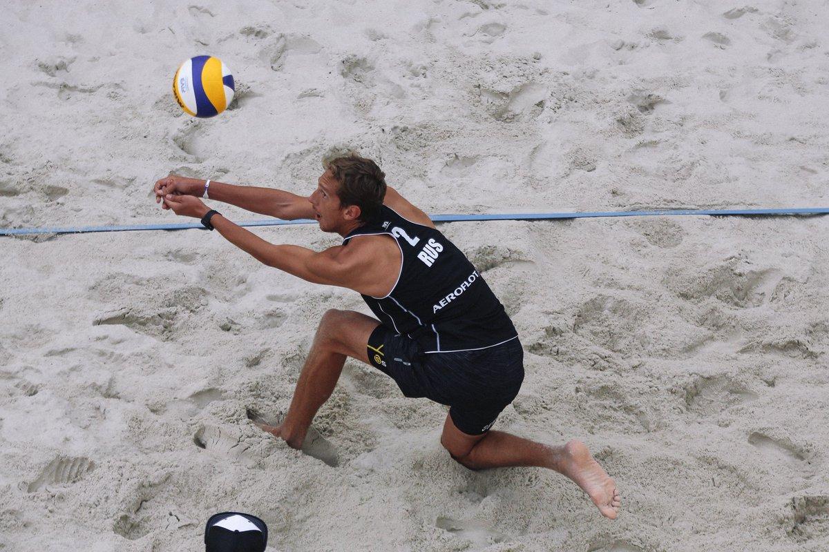 Смоленский волейболист-пляжник выиграл китайский этап мирового тура