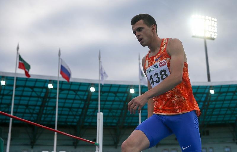 Смоленский легкоатлет Илья Иванюк тренируется в Кисловодске