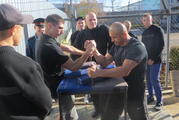 В Смоленской области проходит спартакиада среди осужденных