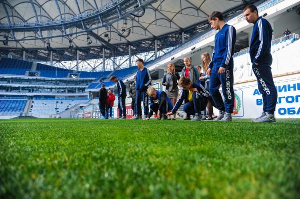 Команда из Шаталово посетила «Волгоград-арену»