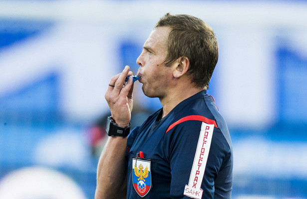 А. Егоров извинился перед руководством «Ахмата» за судейство в матче с «Локо»