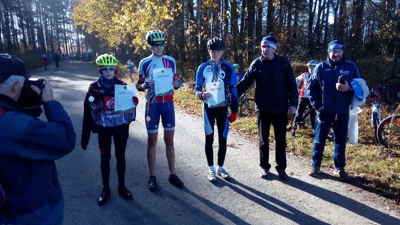 Смоляне приняли участие в чемпионате Витебской области по велоспорту