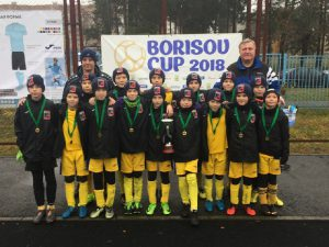 Смоленские футболисты выиграли турнир в Белоруссии