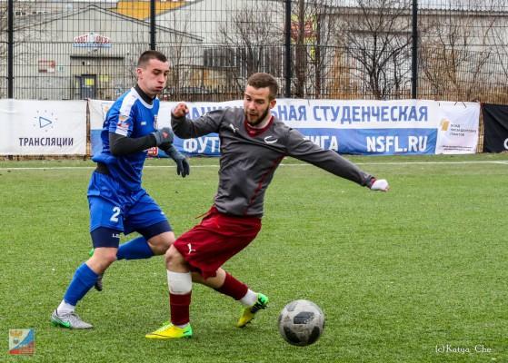 Смоленские «студенты» уступили сборной Саратовского университета