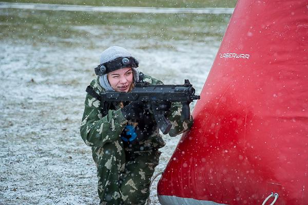 В Смоленске состоялись V ежегодные военно-спортивные игры «Лазертаг»
