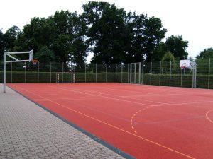 В Смоленске завершили строительство спортплощадки за семь миллионов рублей