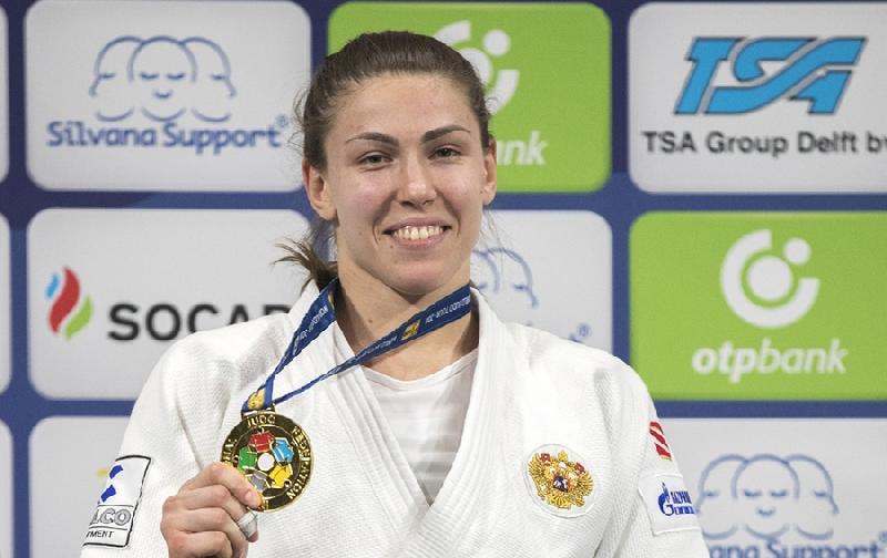 Выпускница смоленского училища выиграла «золото» на этапе Гран-при по дзюдо