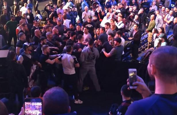 Американский боец Караханян уволен из АСВ после драки на турнире в Москве