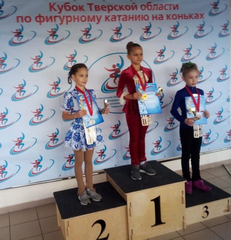 Юная смолянка взяла «золото» на соревнованиях по фигурному катанию