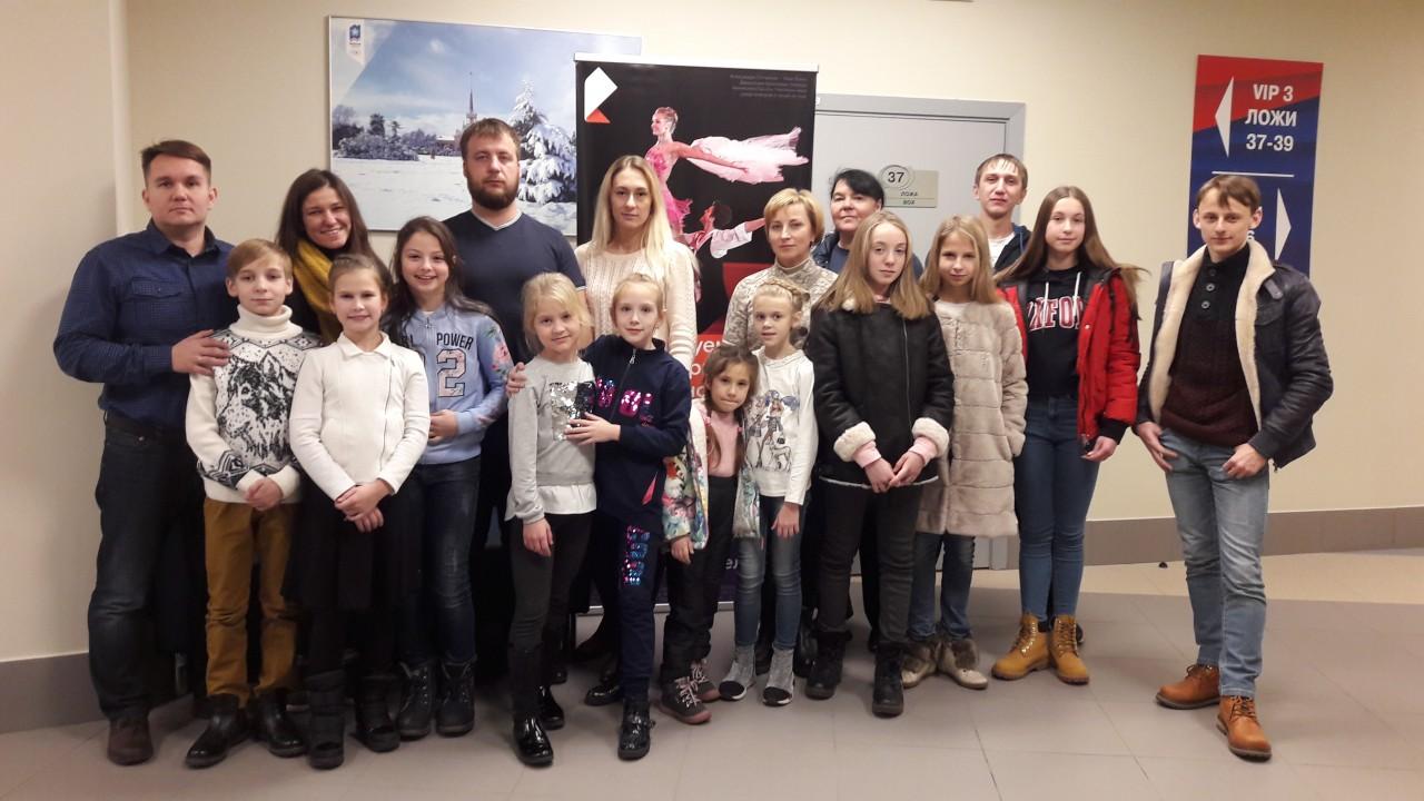 «Ростелеком» пригласил участников «Звездной дорожки» и их тренеров на крупнейший международный турнир по фигурному катанию в России