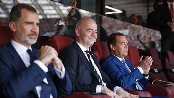 Медведев рассказал о доходах от проведения ЧМ-2018