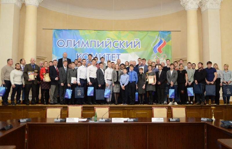 Лучших спортсменов региона наградили в Смоленской области