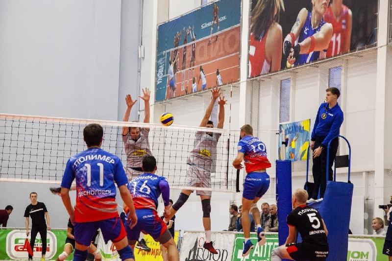 Смоленские волейболисты вышли в лидеры Первой лиги