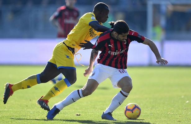 «Милан» не смог обыграть аутсайдера чемпионата Италии