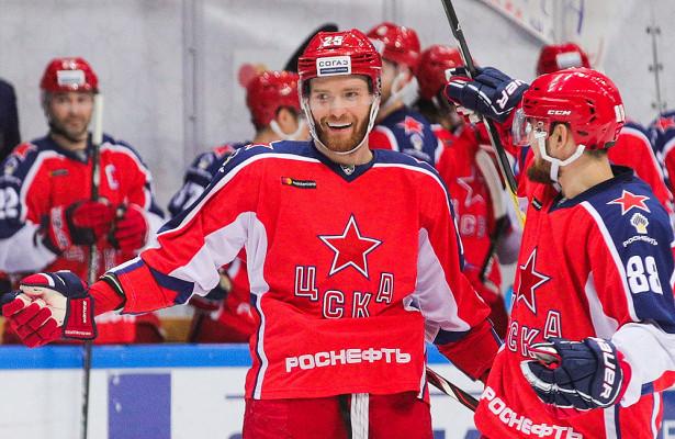 ЦСКА прервал восьмиматчевую победную серию «Металлурга» вКХЛ