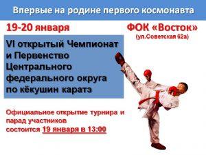 Всероссийский турнир по каратэ пройдет в Смоленской области