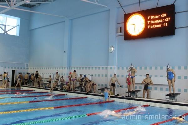 В Смоленске прошли Всероссийские соревнования по подводному спорту