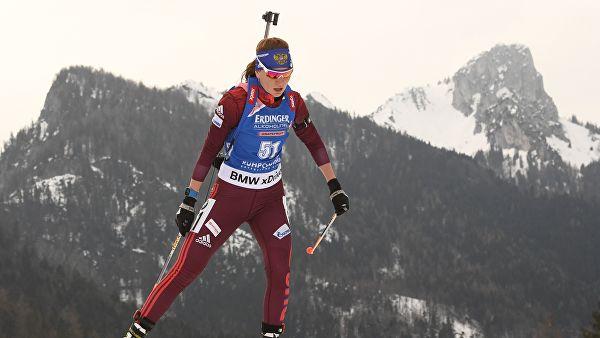 Сливко выиграла спринт на этапе Кубка IBU в Швейцарии