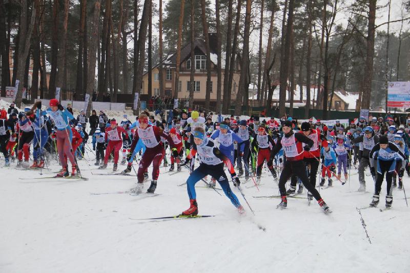 Больше четырех тысяч смолян приняли участие в «Лыжне России»
