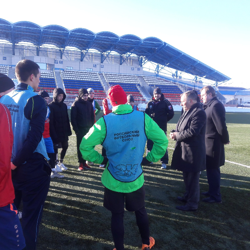 Футболисты СГАФКСТ узнали задачи на год