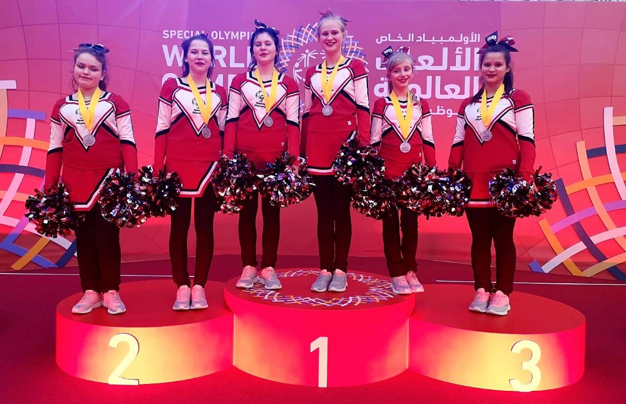 Смоленские чирлидерши победили на всемирной специальной Олимпиаде