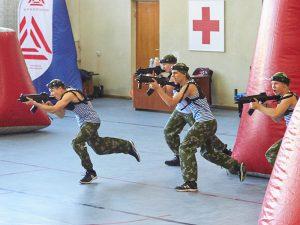 В Смоленске прошли всероссийские соревнования по лазертагу