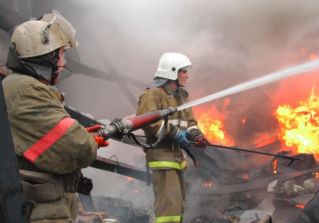 Под Смоленском сгорел оздоровительный комплекс