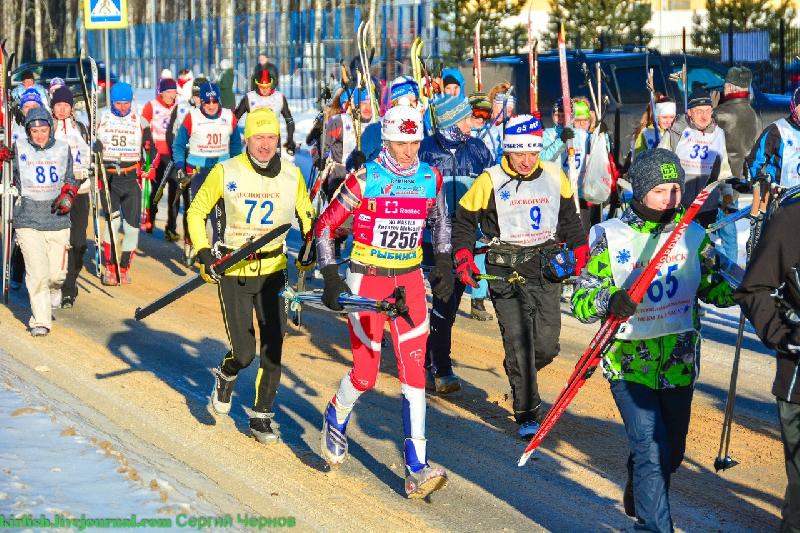 «100 километров по солнечному морозу». В Смоленской области состоялся лыжный марафон